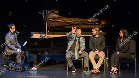 Editorial photo of Justin Kauflin performance and discussion at the Wallis Annenberg Center for the Performing Arts, Los Angeles, America - 22 Jan 2016