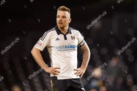 Jamie O?Hara of Fulham looks dejected during the SkyBet Championship match between Fulham and Hull City played at Craven Cottage Stadium, London on January 23rd 2016