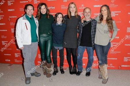 Christopher Lytton, Allison Janney, Ellen Page, Sian Heder, Russell Levine, Heather Rae