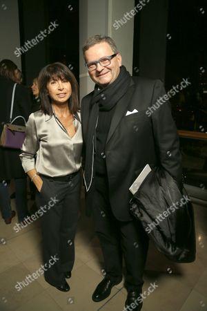 Veronique Nichanian with guest
