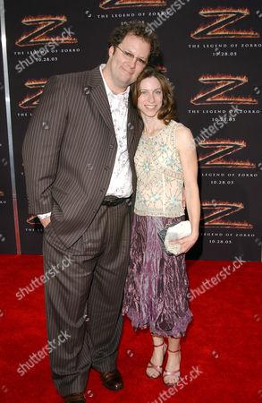 Shuler Hensley and wife Paula Hensley
