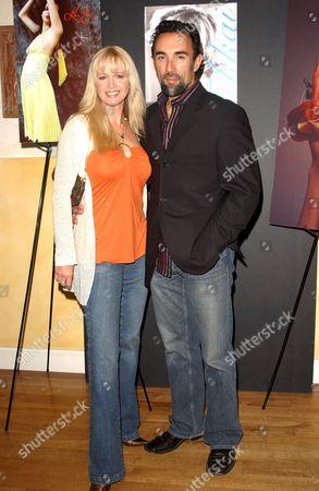 Julie McCann and Francesco Quinn
