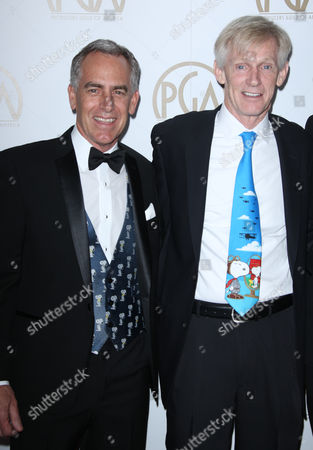 Steve Martino and Charles M. Schulz jr.