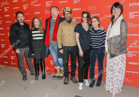 Stock Photo of James Jordan, Sarah Rodier, Jared Harris, James LeGros, Kristen Stewart, Kelly Reichardt, Lily Gladstone