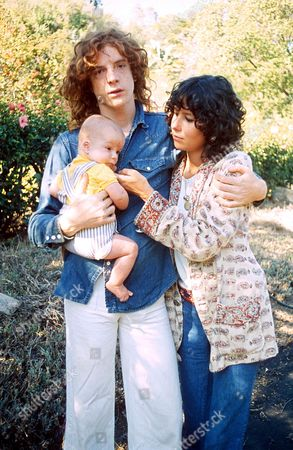 Stock Picture of PAUL GETTY III AND FAMILY