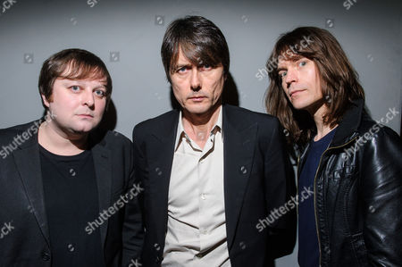 Richard Oakes, Brett Anderson and Neil Coding of Suede