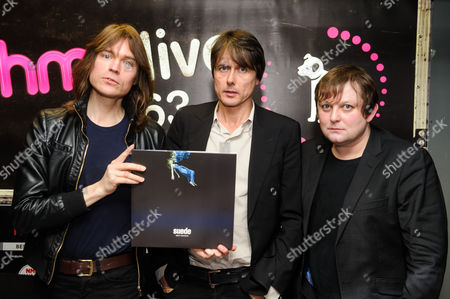Brett Anderson and Neil Coding, Richard Oakes of Suede