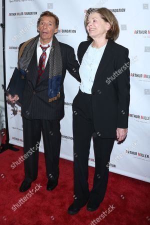 Stock Photo of Ron Leibman and Jessica Walter
