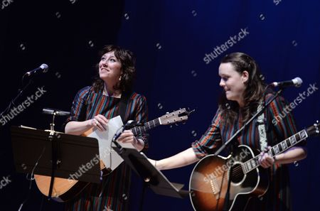 Editorial picture of The Wainwright Sisters in concert at Celtic Connections Festival, City Halls Glasgow, Scotland, Britain - 25 Jan 2016