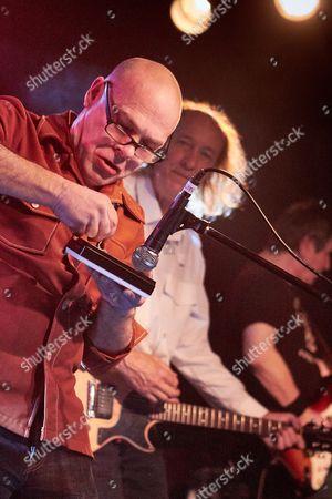 John Otway in concert.