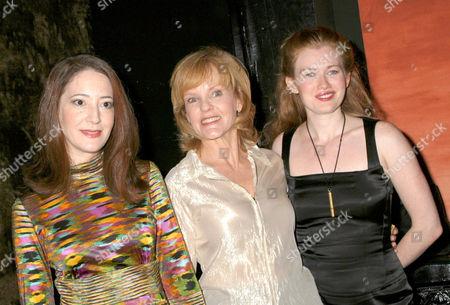 Clea Lewis, Deborah Rush and Mireille Enos