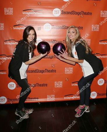 Editorial image of Second Stage Theatre's All-Star Bowling, New York, America - 25 Jan 2016