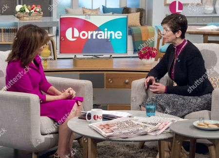 Lorraine Kelly and Reverend Libby Lane