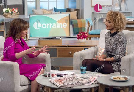 Lorraine Kelly and Tupele Dorgu