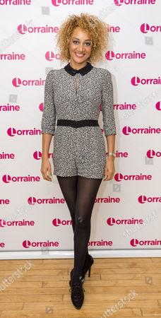Editorial photo of 'Lorraine' TV show, London, Britain - 26 Jan 2016