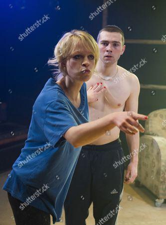 Sian Breckin as Maggie, Jake Davies as Bobbie,