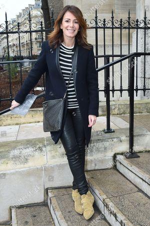 Elsa Fayer, Franck Sorbier Haute Couture fashion show