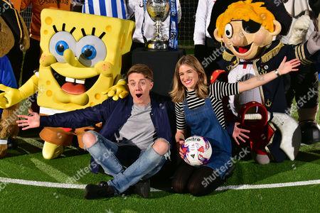 SpongeBob SquarePants, Roman Kemp, Rachel Stringer, Team Mascots