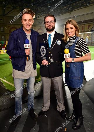 Roman Kemp, Mark McKinley, Records Manager Guinness World Records, Rachel Stringer