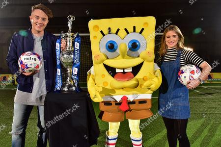 Roman Kemp, The Football League Championship trophy, SpongeBob SquarePants, Rachel Stringer