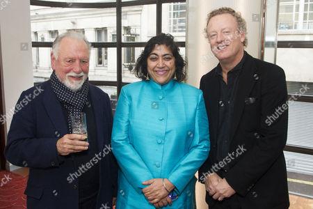 Kenneth Cranham, Gurinder Chadha and Howard Goodall