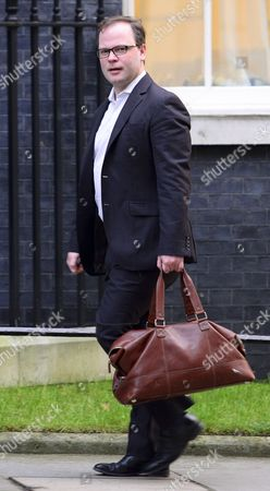 Head of Communication for David Cameron PM Craig Oliver arriving at No10