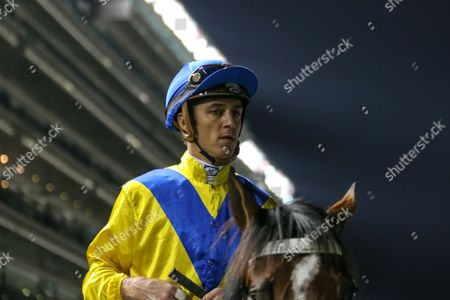 Dubai Meydan World Cup Carnival, Forries Waltz and Christophe Soumillon, trained by Mike de Kock. win race 4 the Al Rashidiya Gp 2