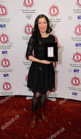 Anna Fleischle Winner of Best Designer for Hangmen