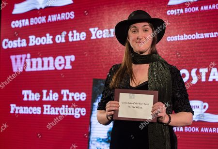 Frances Hardinge, winner of Costa Book of the Year for The Lie Tree