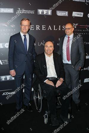 Ari Vatanen, Philippe Streiff and guest