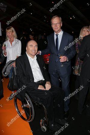 Philippe Streiff and Ari Vatanen