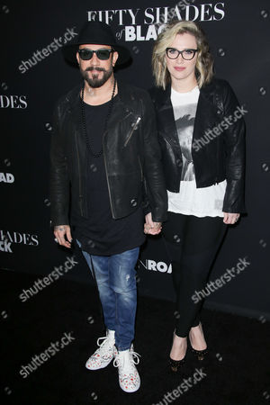 Stock Image of A.J. McLean and Rochelle DeAnna Karidis