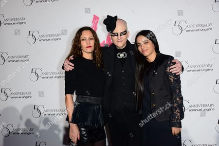 Karole Rocher, Ali Mahdavi and Hafia Erzi