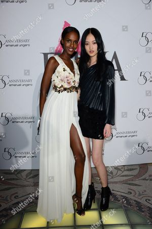 Leila Nda and Jing Wen