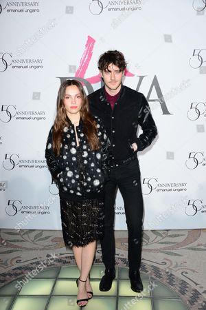 Lola Le Lann and Cesar Domboy