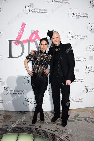 Jennifer Ayache and Ali Mahdavi