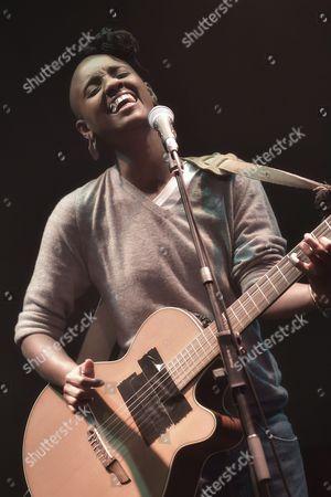 Editorial image of Gasandji in concert, Paris, France - 23 Jan 2016