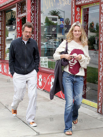 Editorial image of GARY OLDMAN AND GIRLFRIEND AILSA MARSHALL OUT AND ABOUT IN LOS ANGELES, AMERICA - 18 OCT 2005