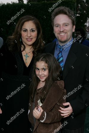 Kathy Najimy and Dan Finnerty with daughter