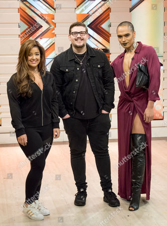 Lauren Murray, Che Chesterman and Seann Miley Moore
