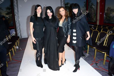 Candice Pascal, Designer Patuna, Laetitia Fourcade and Priscilla Betti