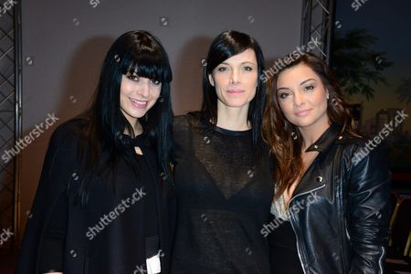 Candice Pascal, Laetitia Fourcade and Priscilla Betti