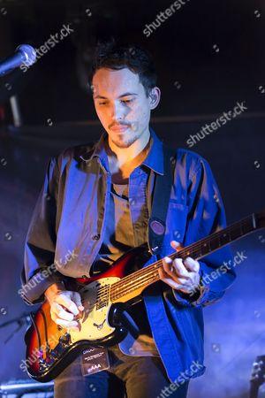 Igor Haefeli of Daughter performs