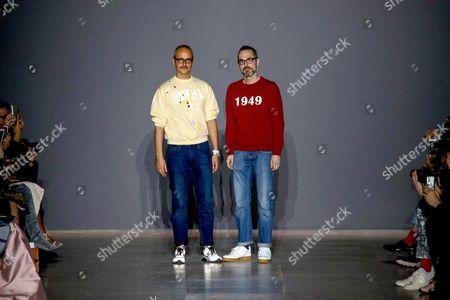 Viktor Horsting and Rolf Snoeren on the catwalk