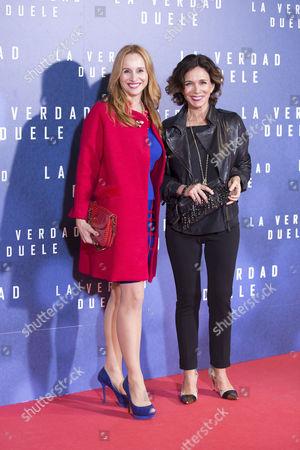 Lydia Bosch and Mar Regueras