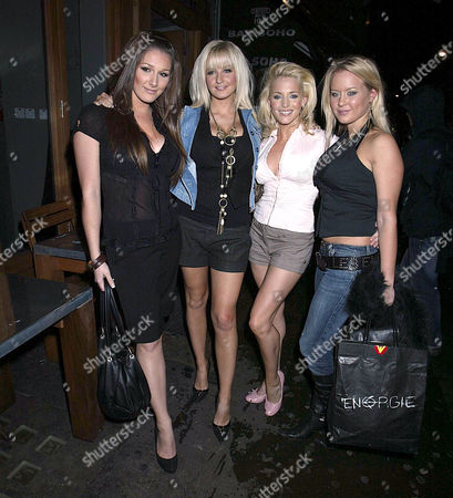 Editorial picture of STARS OUT AND ABOUT IN LONDON, BRITAIN - 19 OCT 2005