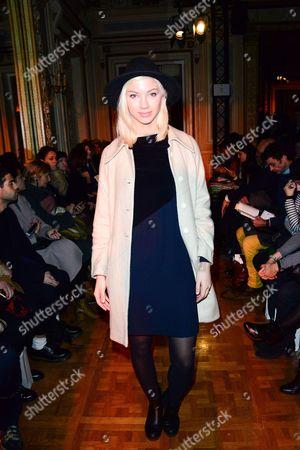 Editorial image of Ilja show, Spring Summer 2016, Haute Couture, Paris Fashion Week, France - 27 Jan 2016