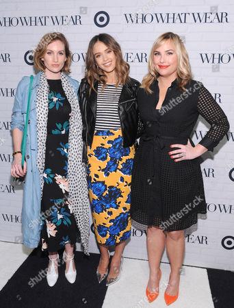 Jessica Alba, Hillary Kerr and Katherine Power