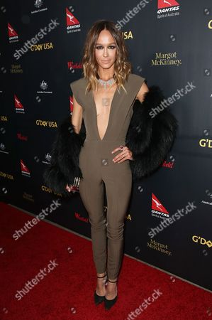 Editorial image of G'Day USA Gala, Arrivals, Los Angeles, America - 28 Jan 2016