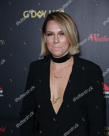 Editorial picture of G'Day USA Gala, Arrivals, Los Angeles, America - 28 Jan 2016